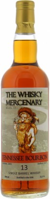 13 Years Old Tennessee Bourbon 51.5%The Whisky Mercenary -