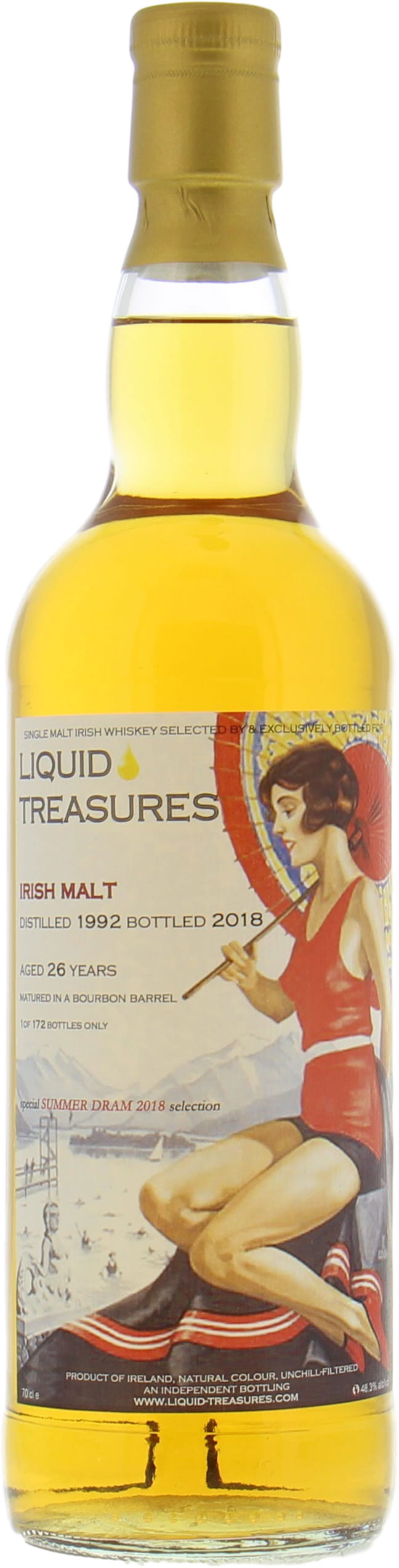 26 Years Old Liquid Treasures Special Summer Dram 2018 Selection 48.3%