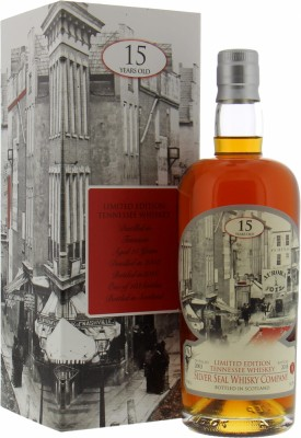 Tennesee Whiskey 15 Years Old Single Cask 51.5%Silver Seal -