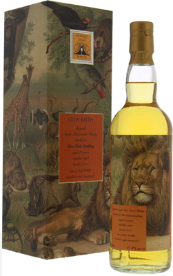 24 Years Old Antique Lions of Spirits Savannah Series 47.3%Glen Keith -