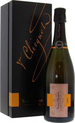 Veuve Clicquot - Cave Privee Rose 1990