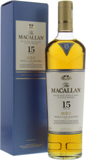 15 Years Old Fine Oak Triple Cask Matured 40%