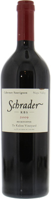 Schrader Cellars - Cabernet Sauvignon RBS To Kalon Vineyard 2009