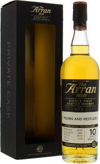 Arran - 10 Year Old Young And Restless Cask 2007/587 58%