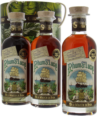 SET 7 Years Old Rhum St. Lucie La Maison Du Rhum Batch 2 45%