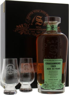 33 Years Old Signatory 30th Anniversary Cask 1241 53.4%33 Years Old Signatory 30th Anniversary Cask 1241 53.4%