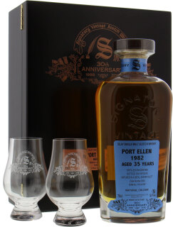 35 Years Old Signatory 30th Anniversary Cask 2040 55.1%