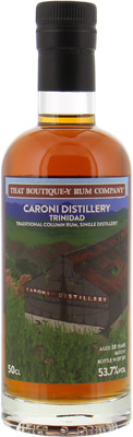 Caroni - 20 Years Old That Boutique-y Rum Company Batch 1 53.7% NV