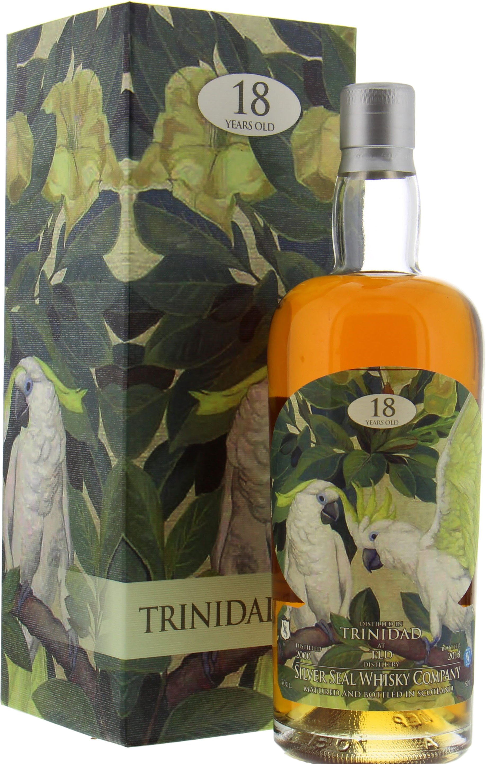 Trinidad - 18 Years Old Silver Seal Cask R1462 50% 2000