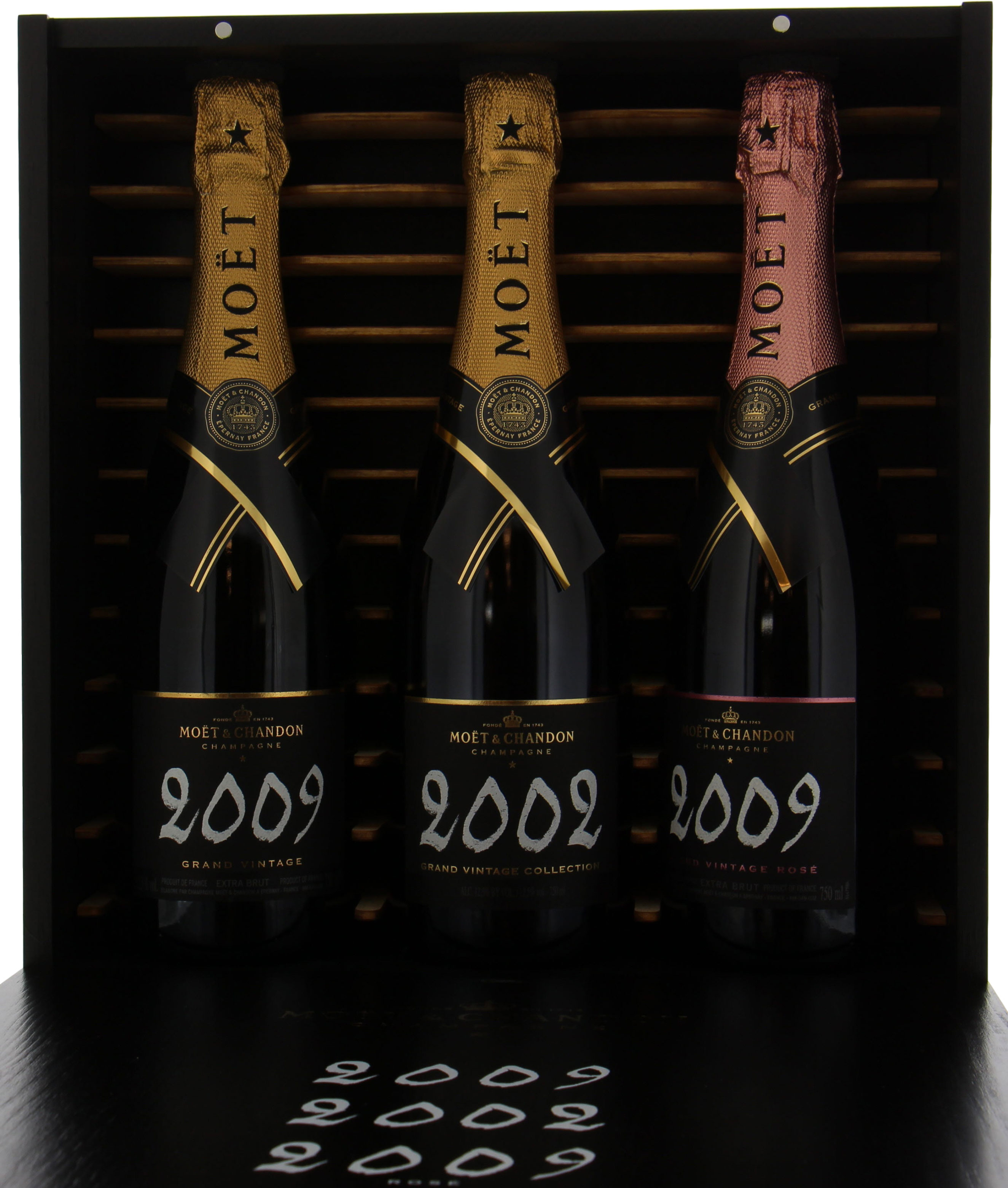 Moet Chandon - Grand Vintage Brut 2002-2009 Rose 2009 2002