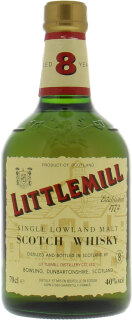 Littlemill - 8 Years Old Green Dumpy Gold Capsule 40%