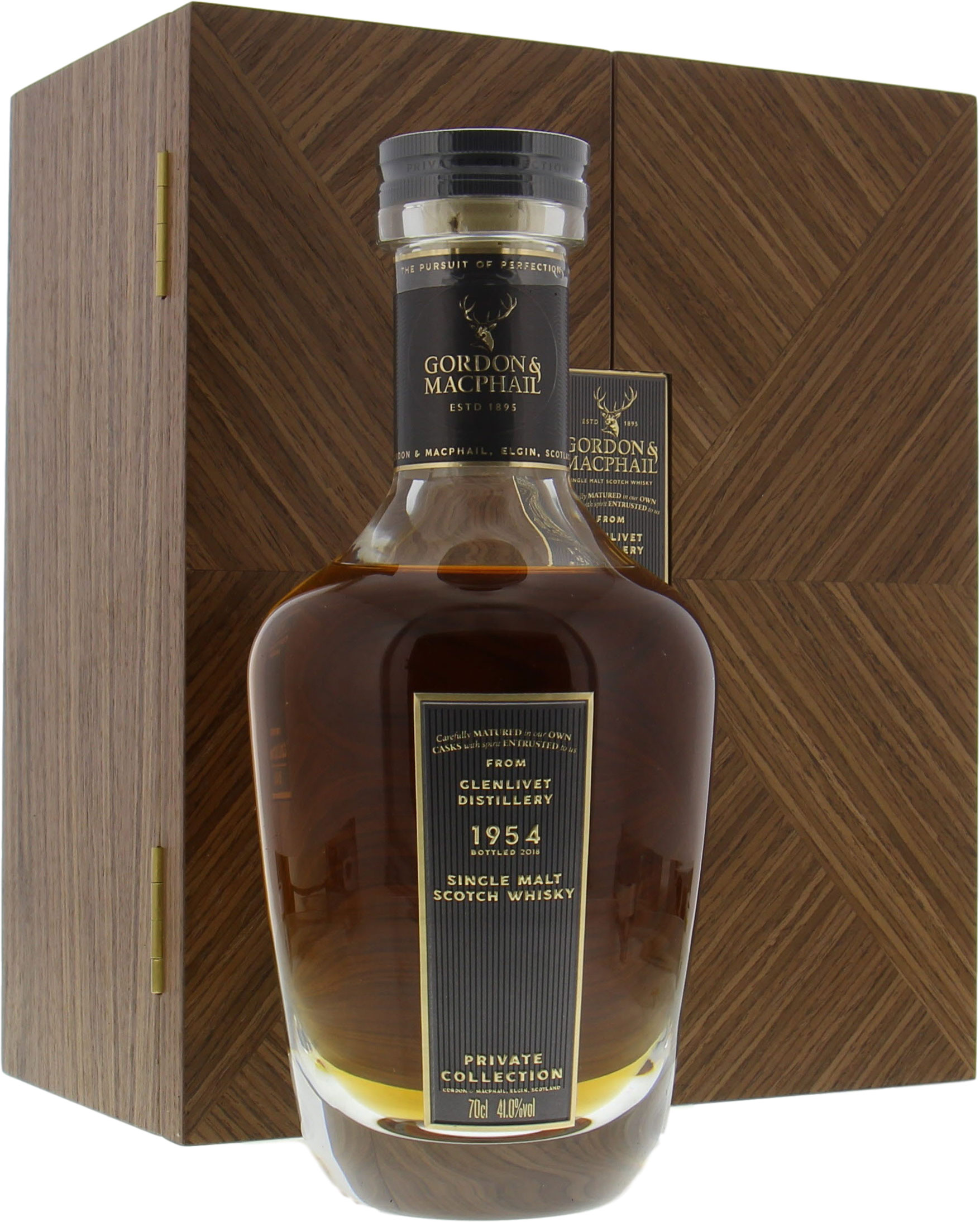 Glenlivet - 1954 Years Old Gordon & MacPhail Private Collection Cask 1412 41% 1954