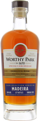 Worthy Park - Single Estate Madeira Cask Selection 58% 2013