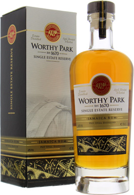 Worthy Park - Single Estate Reserve 45% NV