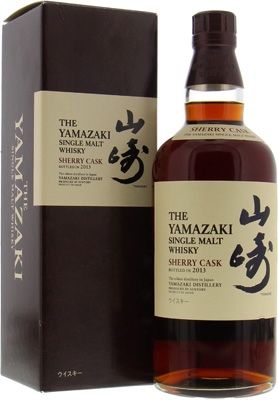 Yamazaki - Sherry Cask 2013 Jim Murray's Best Whisky Of the World 2015 48% NAS
