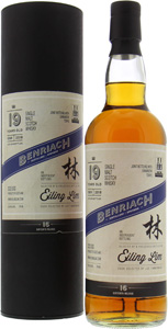 19 Years Old Eiling Lim 16th Release Joint Bottling Shinanoya 55%BenRiach -