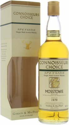Mosstowie - 1979 Connoisseurs Choice 40% 1979