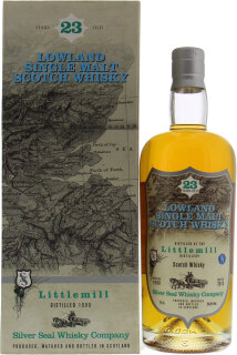 Littlemill - 23 Years Old Silver Seal Cask 33 54.8%