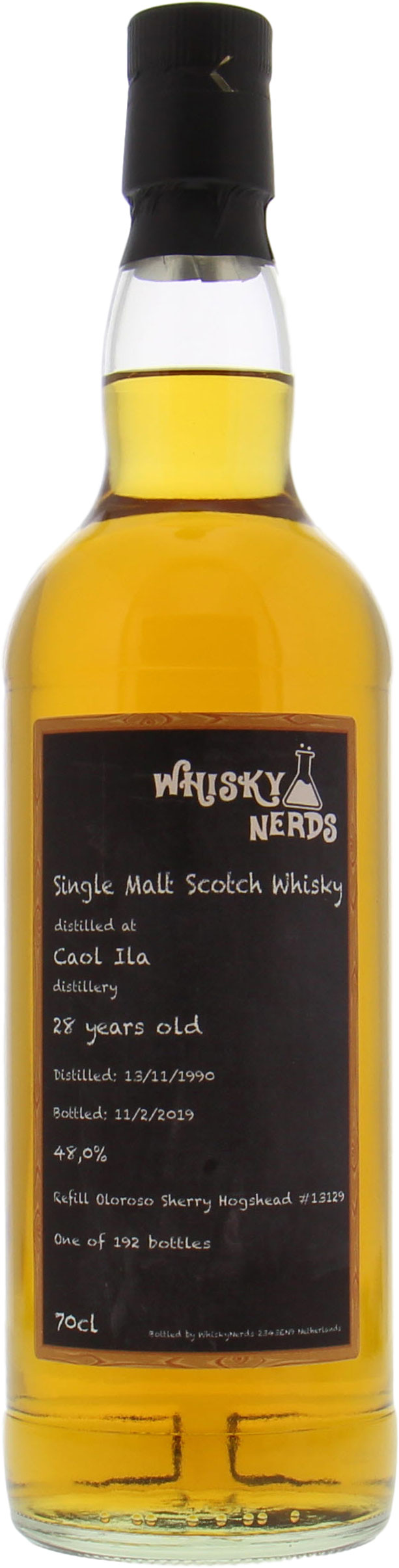 Caol Ila - 28 Years Old WhiskyNerds Cask 13129 48% 1990