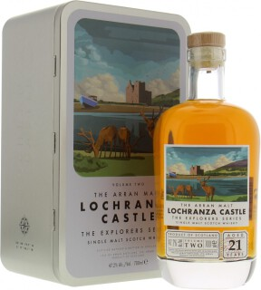 The Explorer Series Lochranza Castle 21 Years Old 47.2%