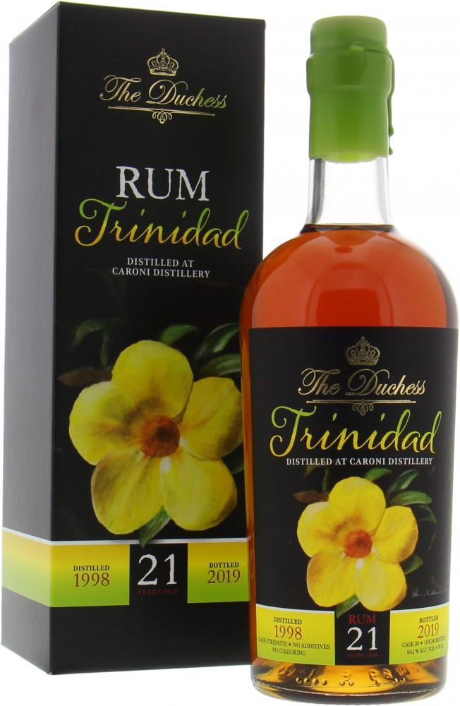 Caroni - 21 Years Old Trinidad The Duchess Cask 20 64,1% 1998