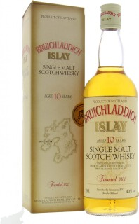 10 Years Old Creme Label Red Letters golden ISLAY 40%
