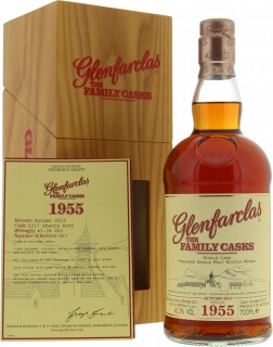57 Years Old The Family Casks Release A13 Cask 2217 43.3%