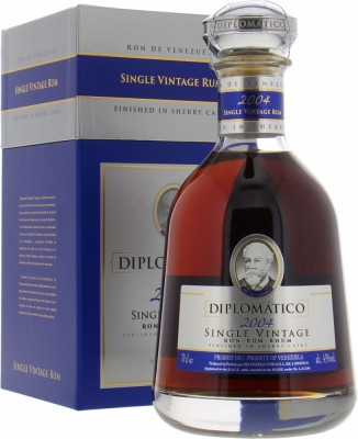 Diplomatico - Single Vintage Rum Sherry Cask Finish 2004 43% 2004