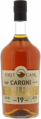 Caroni - 19 Years Old Cask 190 First Cask 61.2% 1999