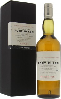 Port Ellen - 1st Annual Release 22 years Old 56.2%