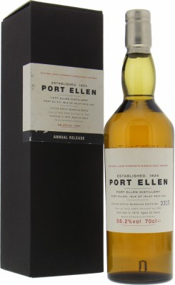 Port Ellen - 1st Annual Release 22 years Old 56.2%  1979