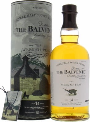 Balvenie - 14 Years Old The Week Of Peat 2019 48.3% NV