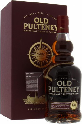 1983 34 Years Old 46%Old Pulteney -