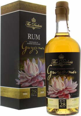 The Duchess 28 Years Old Guyana Versailles Pot still Cask 49 54.9%Enmore -