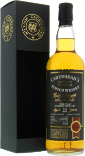 22 Years Old Cadenhead Authentic Collection 55.2%