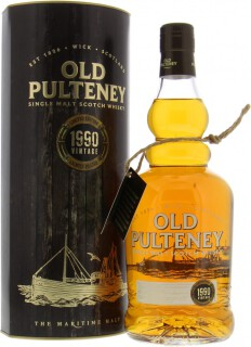 Vintage 1990 Heavily Peated CASK only 23 Years Old 46%