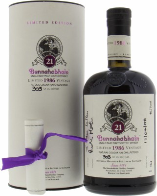 Bunnahabhain - Feis Ile 2008 21 Years Old 46.7% NV