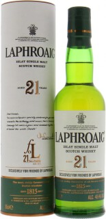 21 Years Old  Friends of Laphroaig Ballot 48.4%