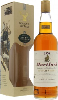 1970 Gordon & MacPhail 30 Years Old 40%