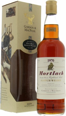 1970 Gordon & MacPhail 32 Years Old 40%Mortlach -