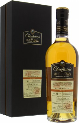 Caperdonich - 23 Years Old Chieftain's Cask 95064 58.2% 1995