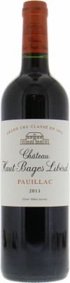 Chateau Haut Bages Liberal - Chateau Haut Bages Liberal 2011