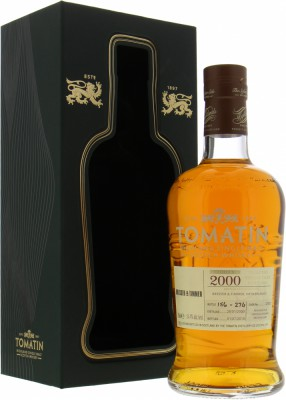 Tomatin - 19 Years Old Single Cask 32937 for Bresser & Timmer 54.4% 2000