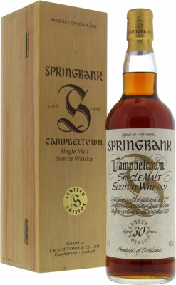 Springbank - 30 Years Old Millennium 46% NV