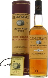 Sherry Wood Finish Old Plain Orange Label 43%