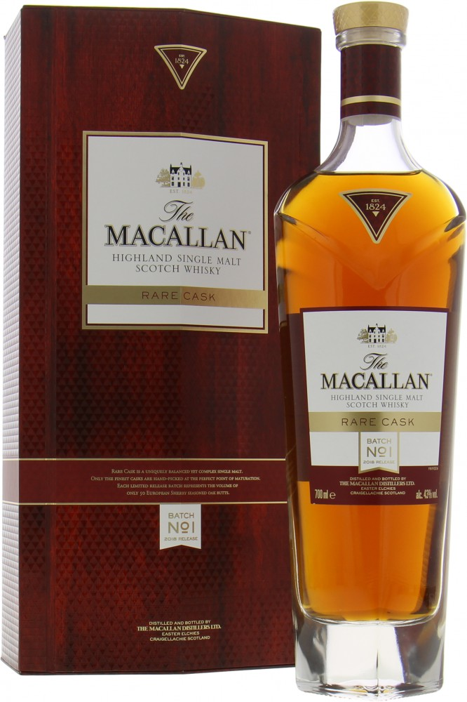 Macallan - Rare Cask  Batch No. 1 2018 Release 43%