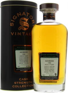 Signatory Vintage Cask Strength Collection Casks 3655+3656 60%
