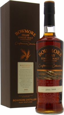 Bowmore - 13 Years Old 1995 Craftsmen's Collection 54.6% NV