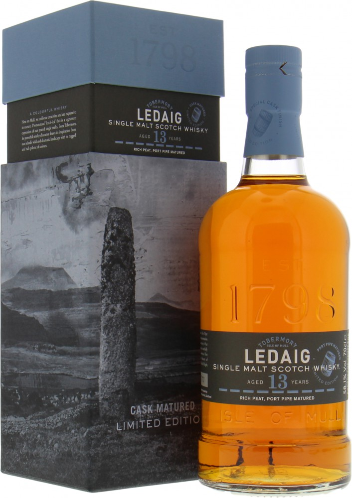 Ledaig - 13 Years Old Port Pipe Matured 58.1% NV