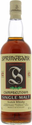 Springbank - 12 Years Old Green Thistle 46% NV